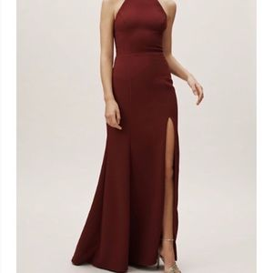 BHLDN Montreal Dress in maroon
